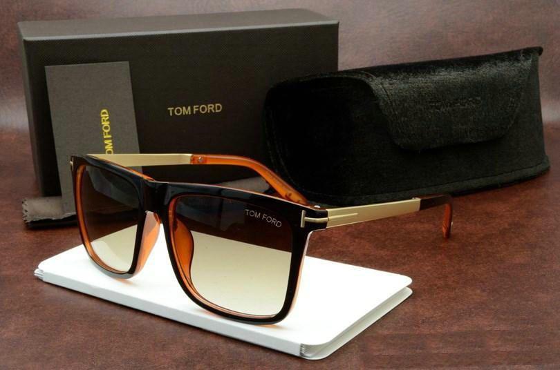 1 Adet Üst Qualtiy Yeni Moda Erkek Kadın Erika Gözlük Ford Tasarımcı Marka Güneş Gözlükleri Yaz Gölgeleri Güneş Çerçeveler İçin 0392 Tom Güneş