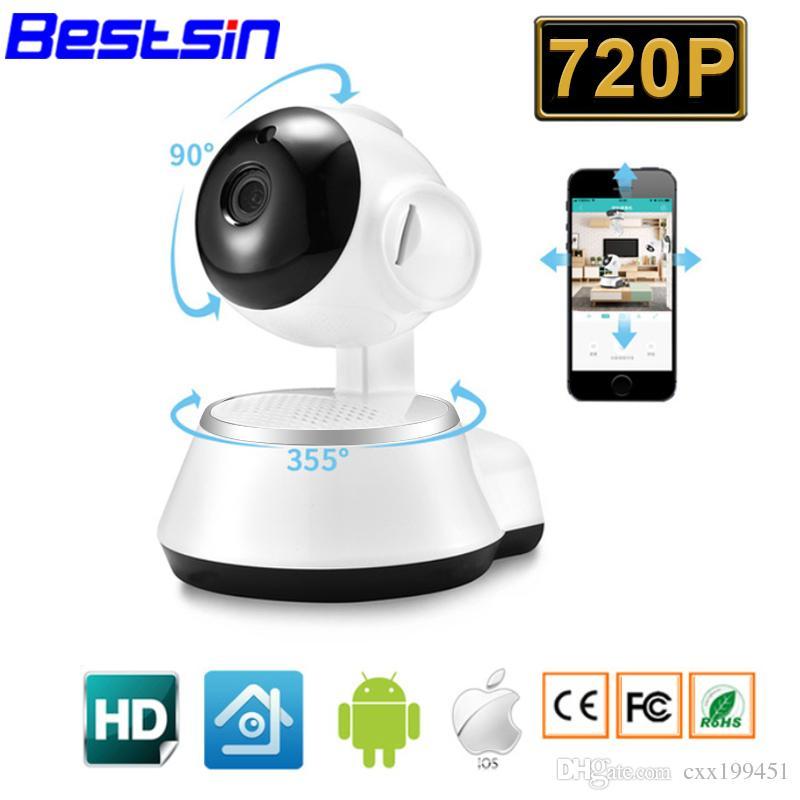 Newest 720P IP Camera Wi-Fi Wireless Home Security Camera Surveillance wifi ip Camera Day/Night Vision CCTV Automatic alarm