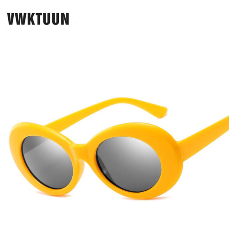 Oval Vintage Sunglasses Women Men Points Candy Color Frame Sun Glasses For Women Outdoor Round Shades Uv400 Eyewear