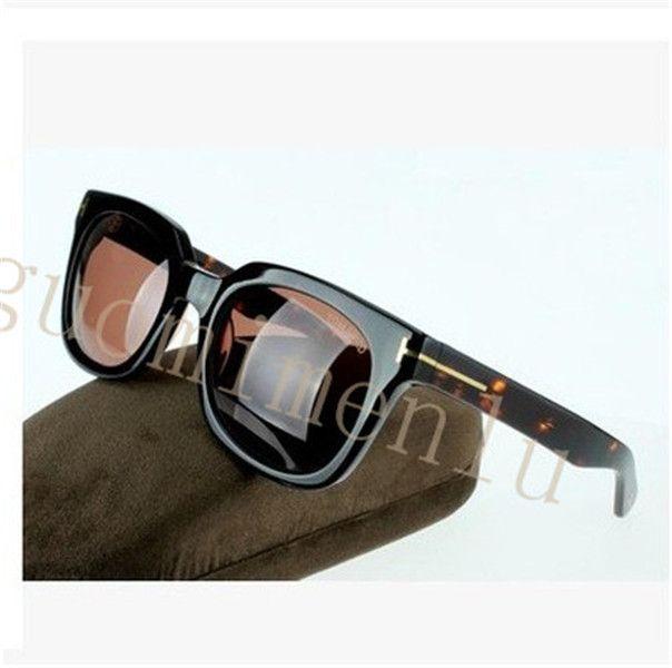 Lunettes de soleil luxe Top qualité New Fashion 211 lunettes de soleil Tom Fore Homme Femme Erika Lunettes Ford Designer Brand Lunettes de soleil avec boîte d'origine