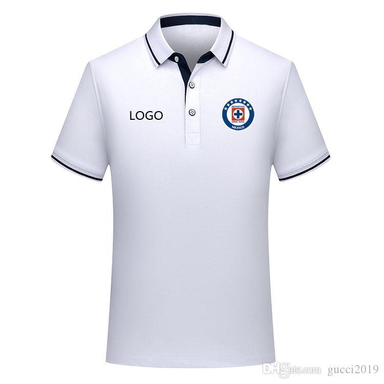 2019 cruz azul Polo Shirt soccer Jersey 19 20 cruz azul soccer polo shirt CAUTE CARAGLIO MONTOYA Men's polo shirt football jerseys