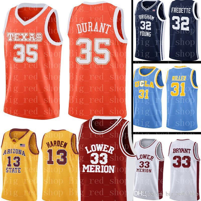 Davidson Wildcats Jersey 35 Kevin Durant Basketbol Formalar NCAA Mens Üniversitesi Ucuz toptan Jersey Boyut S-XXL