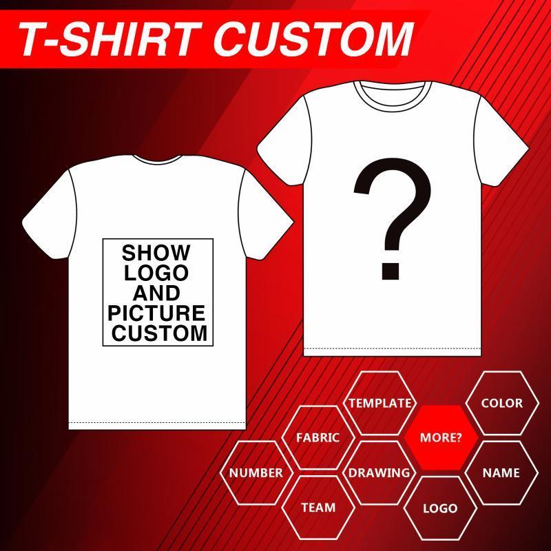T 셔츠 여성 여자의 DIY 사진 로고를 인쇄 사용자 정의 브랜드면 / 폴리 에스테르 셔츠 남성 소년 캐주얼 어린 아기의 t- 셔츠 의류