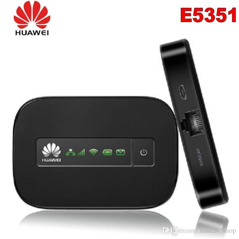 Original Desbloqueado Huawei e5351 21.6 Mbps 3g wifi hotspot roteador wi-fi móvel com caixa de varejo original