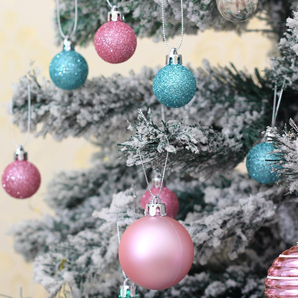 Christmas Tree Balls Small Bauble Hanging Home Party Wedding Ornament Decor Lots