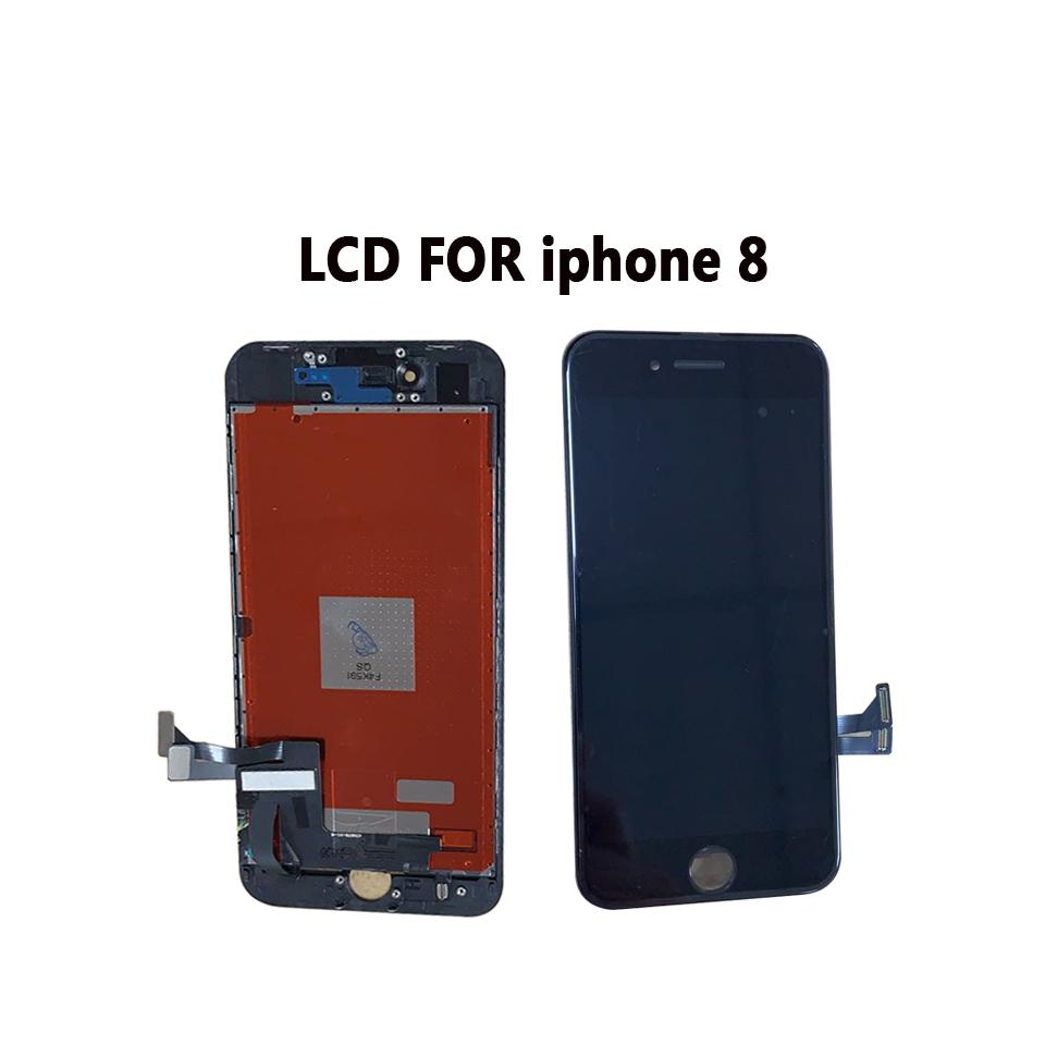 LCD Display For iPhone 8 4.7inch Touch Screen Digitizer Assembly Parts LCD Replacement For iPhone 8 Black & White Color grade A quality