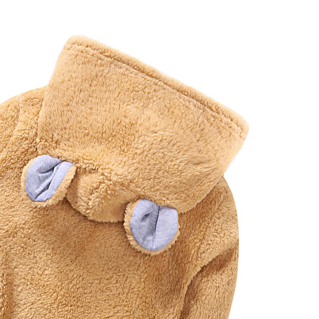 Großhandel Kinder Jungen Mädchen Cartoon Bär Ohr Fleece Tops Sweatshirt Warm Windproof Pullover Größe Von Friendhi, $22.73 Auf De.Dhgate.Com   Dhgate