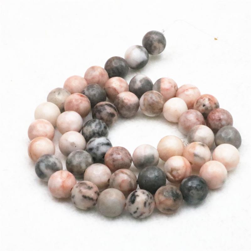 8 Sunning Round Bronzite gemstone beads 12 mm