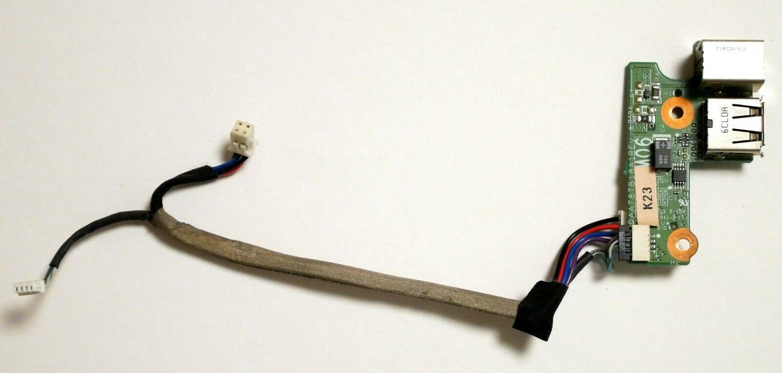 Jack de alimentación de CC con el cable USB Puerto para Tarjetas 90W para HP Pavilion DV6000 portátil envío