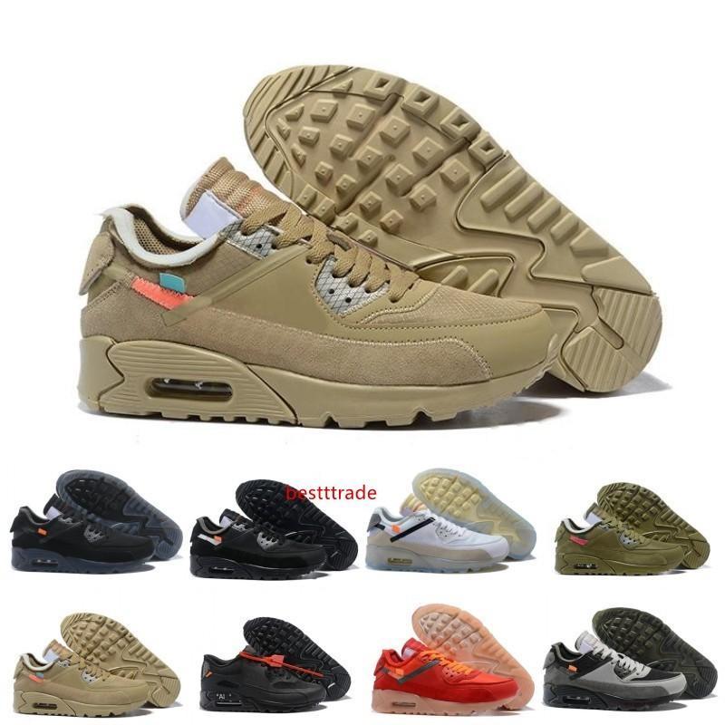 La venta superior de los zapatos corrientes Virgilio Diseñador Copa del Mundo Triple Blanco Negro de aire rojo zapatillas de deporte 9-0s Formadores clásicos Zapatos deportivos Chaussures