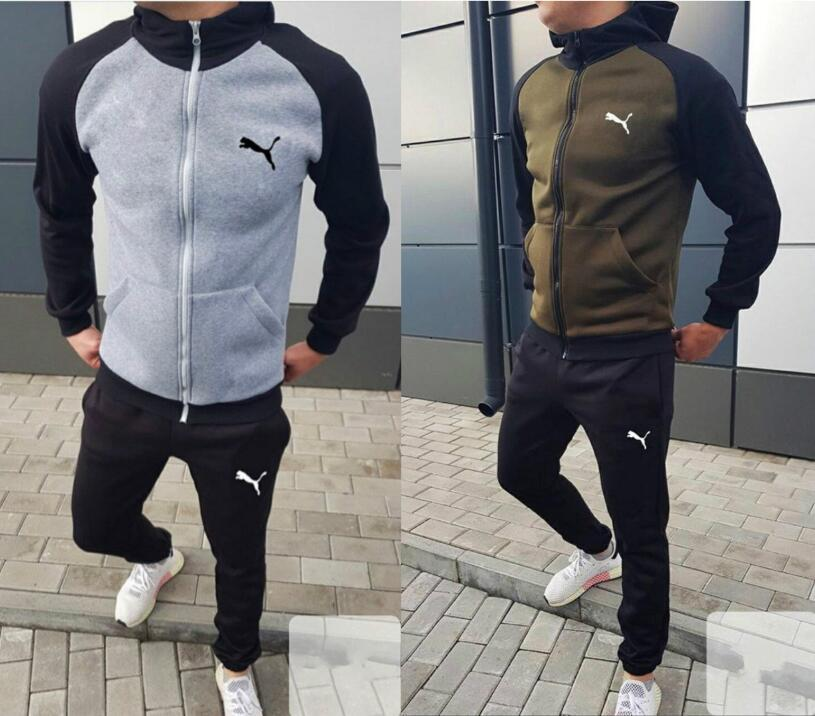 new style Mens Designer Tracksuits hoodie A2puma football tracksuit Sets men jogging suits high-quality mens suit