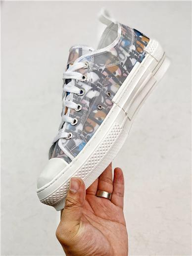 2020 Die letzten weißen Low-Top-Freizeitschuhe transparent Luxus Druck Damen High-Top Sneaker Leinwand Männer und Frauen Mode 8988