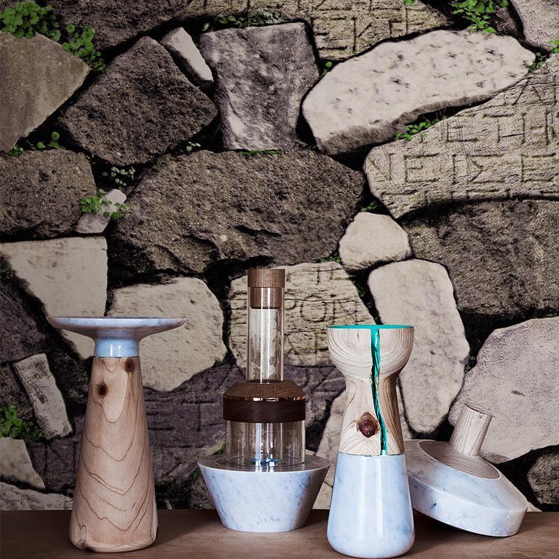Vintage Tuğla Desen Duvar kağıdı Duvarlar İçin 3D Salon Cafe Restaurant PVC Su geçirmez Tuğla Taş Duvar kağıdı Papel De Parede 3D