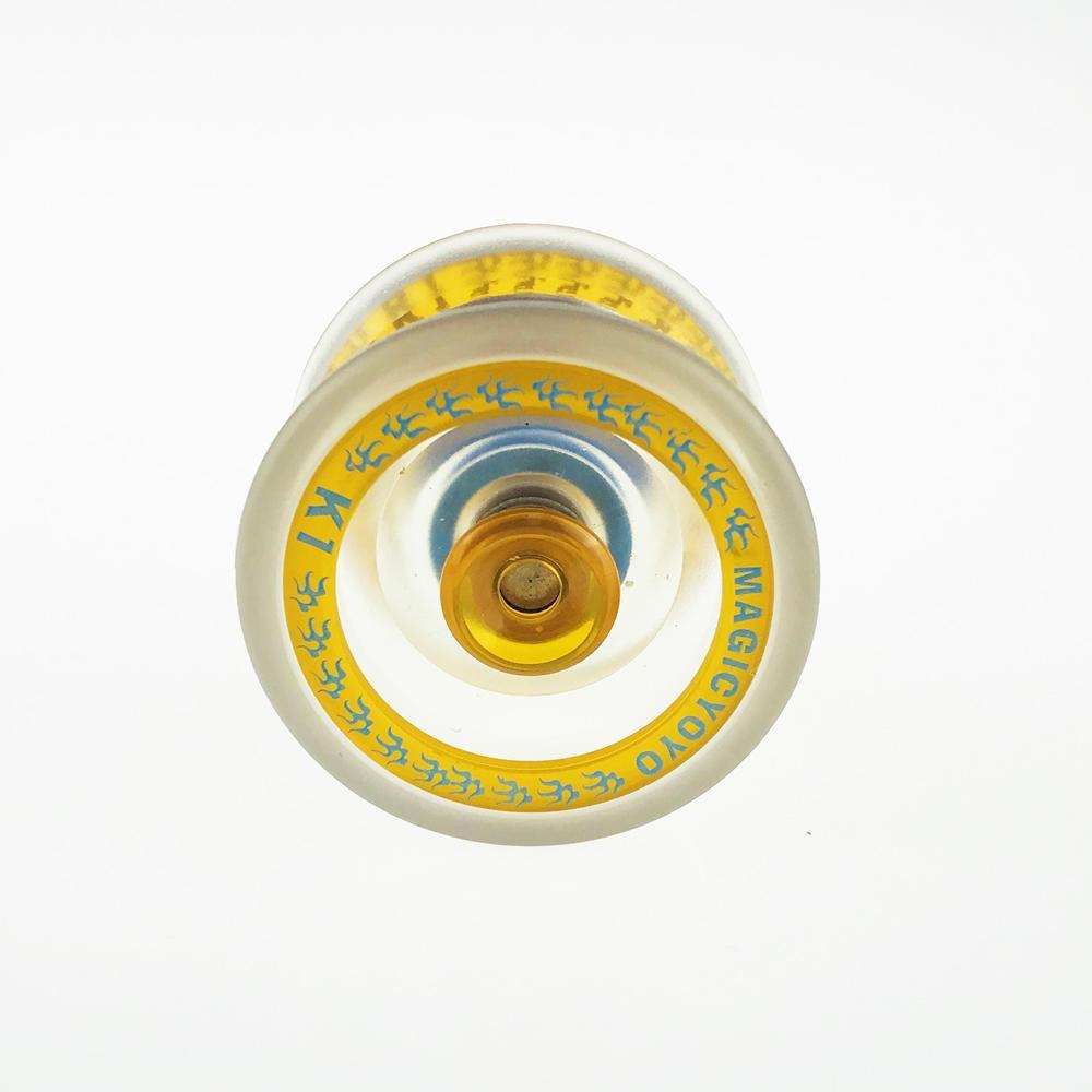 Горячая продажа Йойо Классических Дети Подарочных игрушки Профессиональной Магия Йойо Спины алюминиевого сплав металл йойо подшипник с прядильной строкой