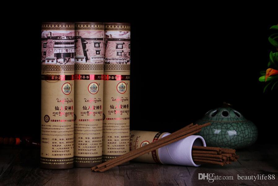 العصي التبت Mindrolling البخور، 50 العصي مبارك من الشهيرة معبد، ويخفف من القلق، ورائحة جيدة تبديد الطاقة السلبية