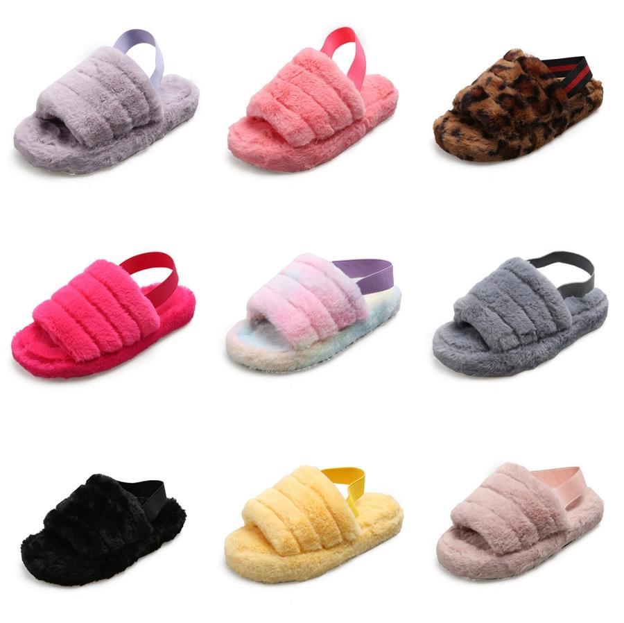 2020 Summer Kids Slippers Boys And Girls Children Summer Beach Slippers New Arrive Little Kids Shoes Eur Size #26-37 #363