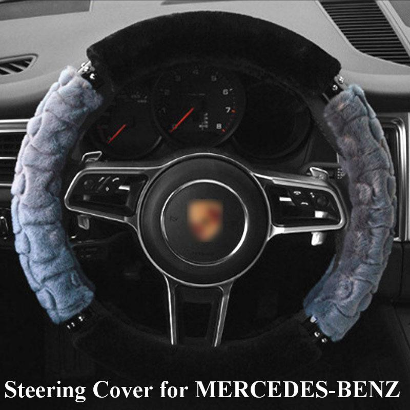 Car Steering Wheel Cover for mercedes-benz All Model Steering Wheel Cover Braid on The Steering Wheel momo