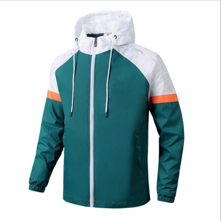 2020 Yeni LA4652 Erkekler Casual Bombacı Ceket Erkekler Trend Hoodie beyzbol Yaka Streetwear Coat Erkek Moda WINDBREAKER Ceketler