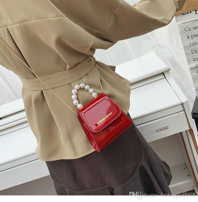Handbag woman 2019 new style single-shoulder cross-body bag hot style south Korean fashion casual handbag