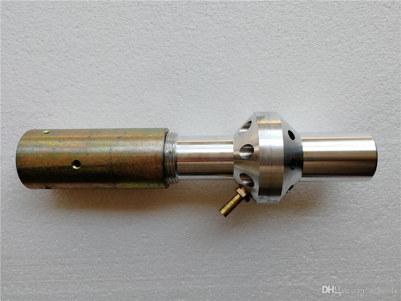 Sandblaster Buse poussiéreuse Venturi doublé Tungstène//Bore carbure avec un attelage