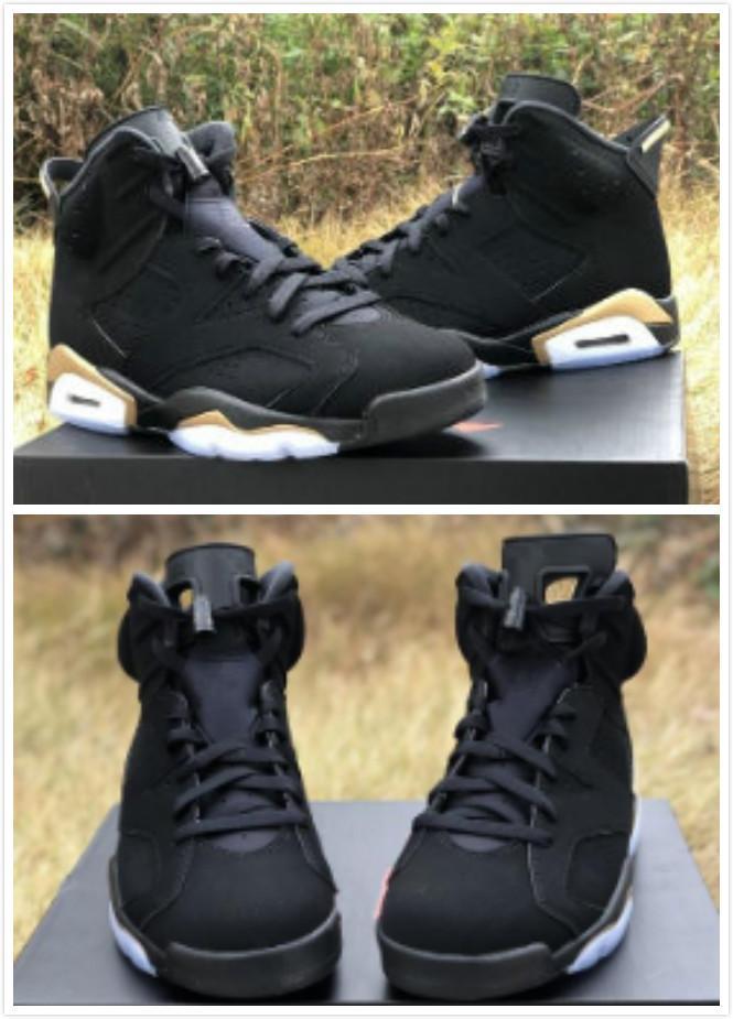 2020 nouvelles chaudes 6 DMP or noir VI 6s hommes chaussures de basket-ball en plein air formateurs Hommes Sport Chaussures 40-45