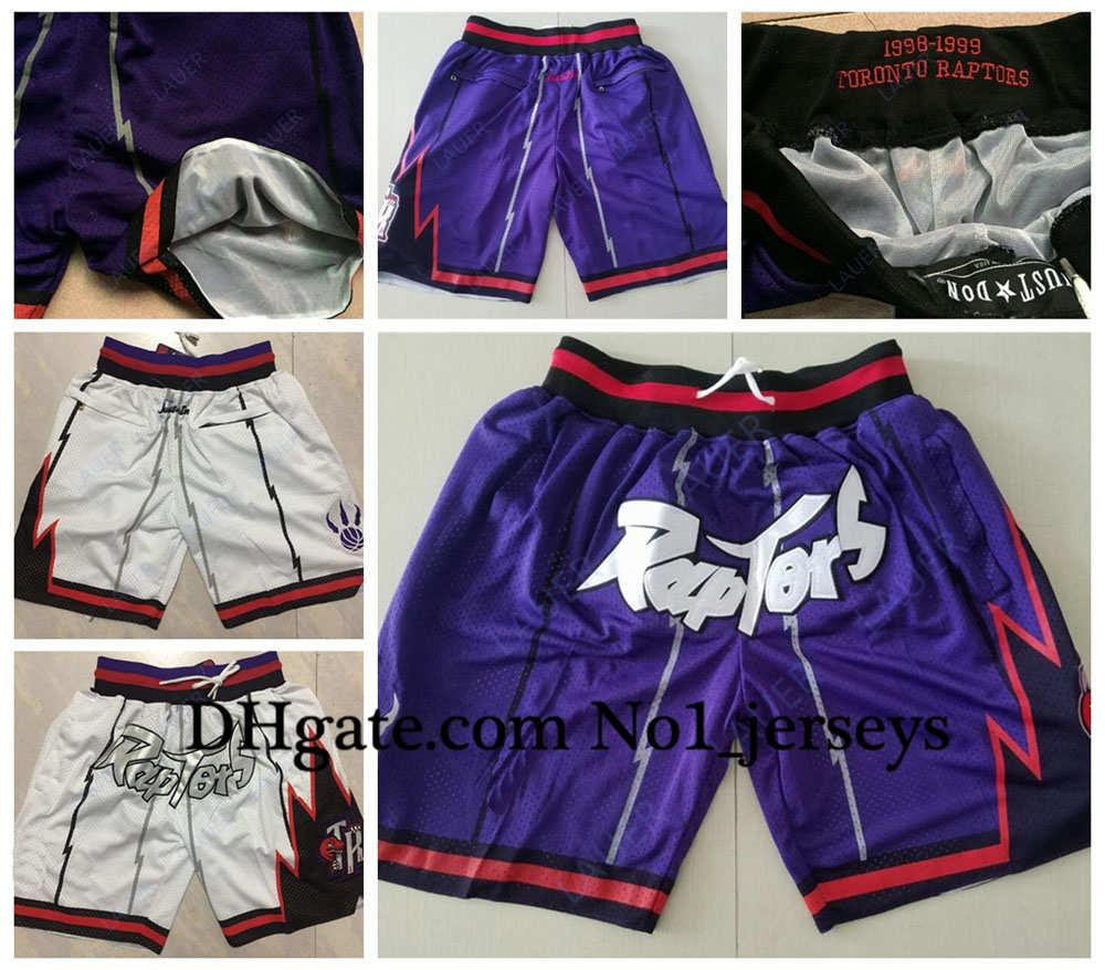 2021 Vintage Toronto 13 Raptors 13 Nba 23 Vanvleet Siakam Ibaka Just Don Retro Breathable Pocket Pants Sweatpants Classic Basketball Shorts From No1 Jerseys1 65 29 Dhgate Com