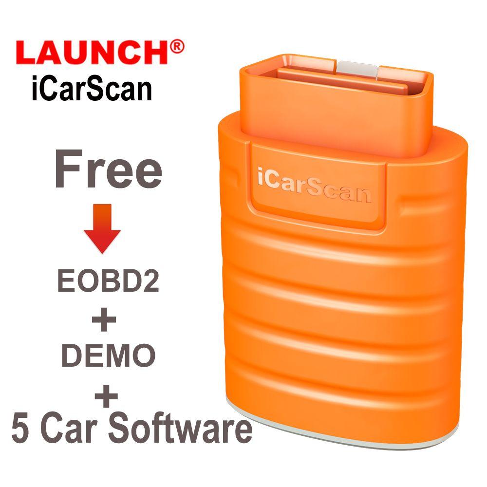 إطلاق ICarScan OBD2 أداة تشخيص السيارات نظام كامل للحصول على الروبوت / IOS 5 مع البرمجيات الحرة أفضل من X431 Easydiag Easydiag 3.0