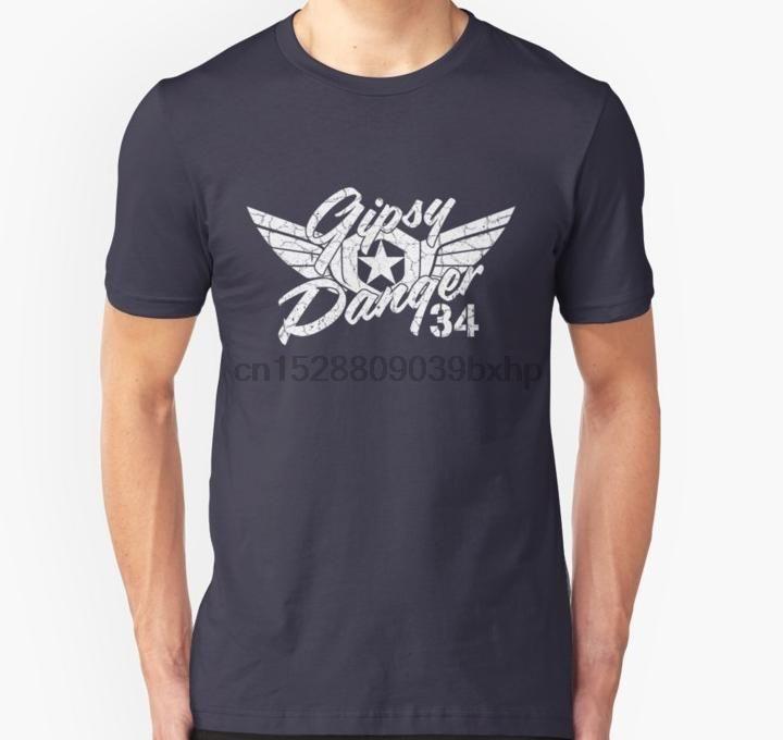 Gli uomini della maglietta Gipsy Pericolo Bianco Faded unisex T-shirt donna T-Shirt T top