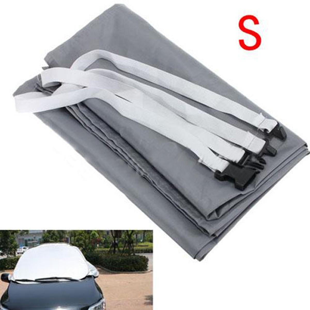 Universal S / M / L Auto Windschutzscheibe Sonnenschutzabdeckung Schnee Eis Schutz Sun Frost Shield Staubdicht 150x70 cm