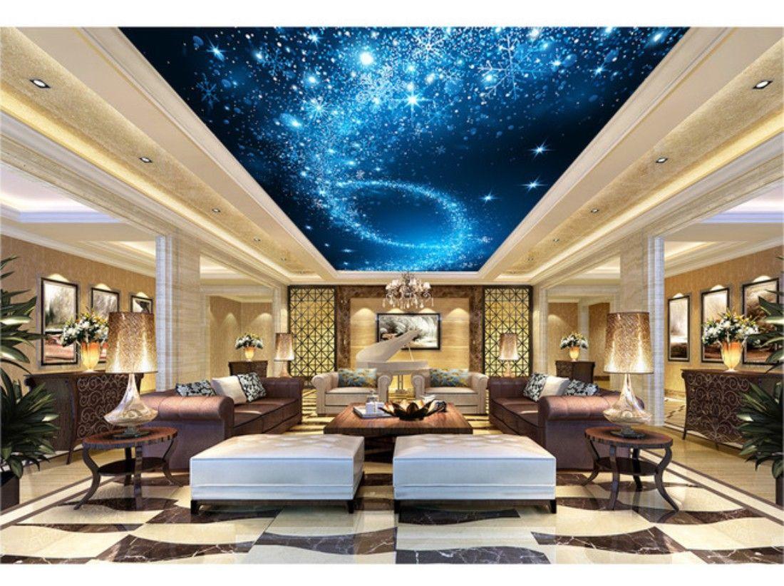 WoowPaper Night Sky 3d Ceiling Wallpaper