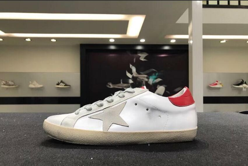 Knjdsa Italy Korean Style Superstar Handmade Do The Old Golden Goose GGDB Francy Glittering High Help Mens Women Casual Shoes Black Shoes Wholesale