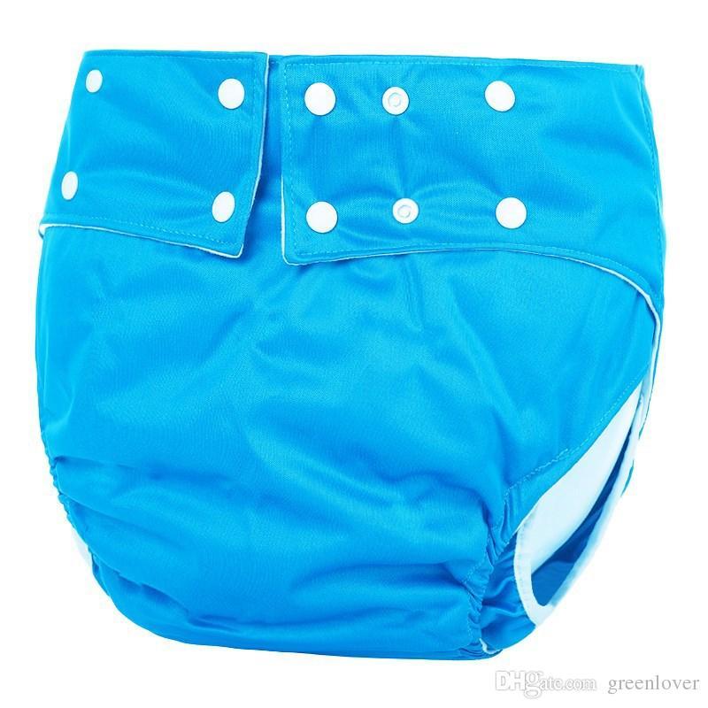 10 Couleur Mix | adulte Lavable Couches Lavables réglables réutilisables Pantalon Ultra Absorbent Incontinence Nappy Pantalons Leakproof couches pour hommes, femmes
