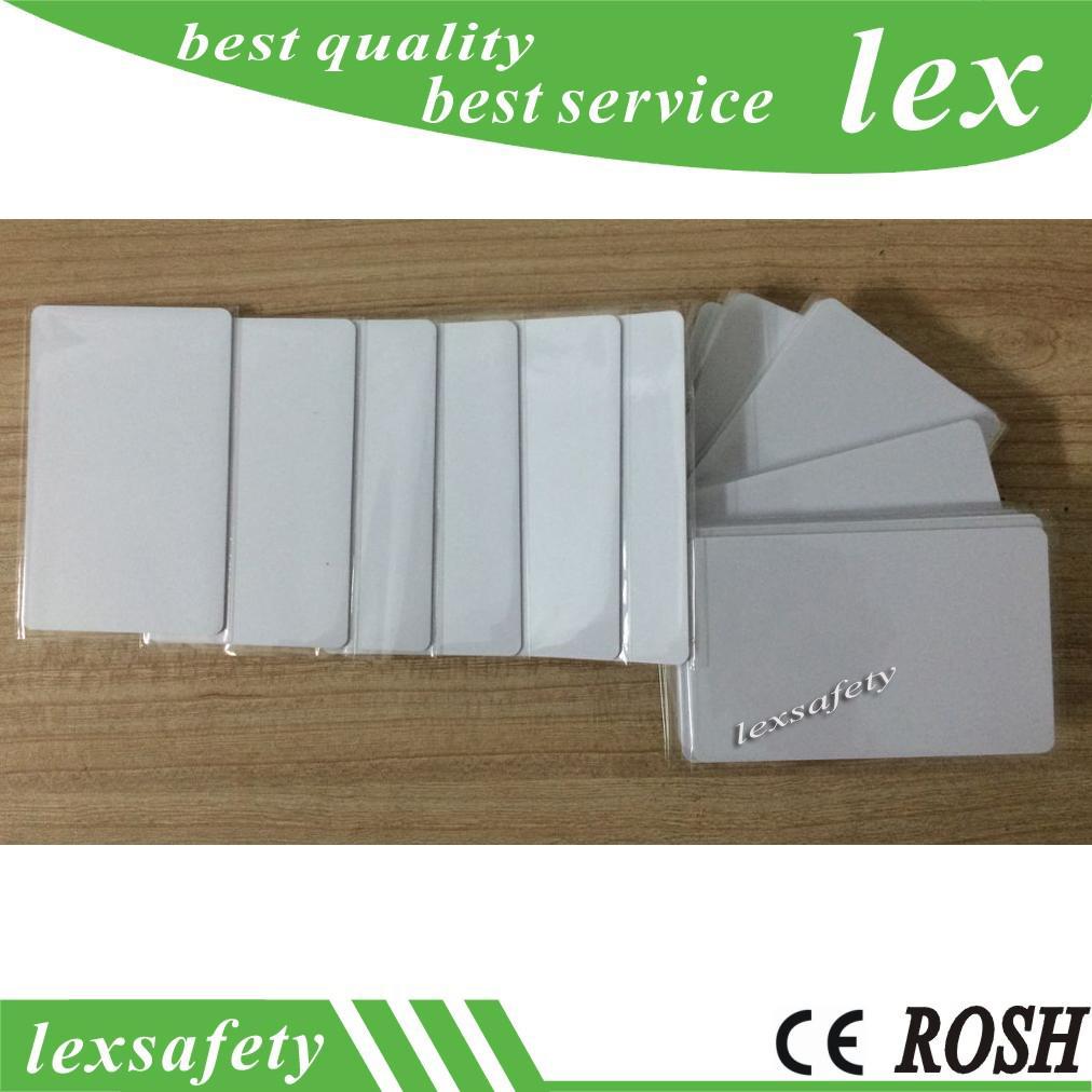 100pcs UID IC Card 1K S50 MF1 RFID 13,56 Contrôle d'accès bloc 0 Secteur inscriptibles IC cartes à puce changeable UID Carte Clone