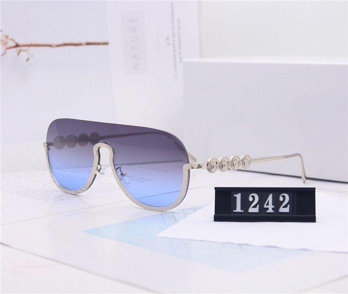2020 Verão Masculino Designer Óculos Goggle óculos de sol de alta qualidade com caixa de Verão elegante temperamento Avançada