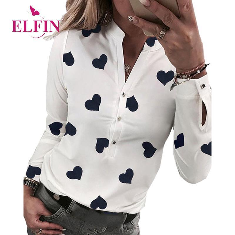 Blanc Hauts femmes et blouses d'été Chemise à manches longues Blusas femme 2019 dames élégantes Hauts Harajuku SJ3305R Y200402
