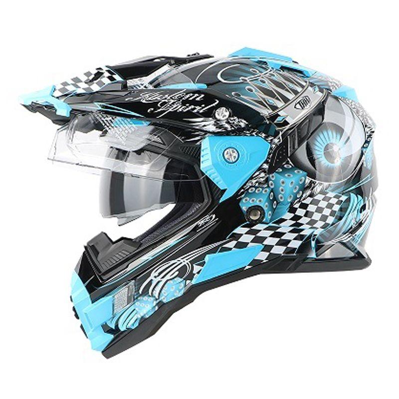 motorcycle helmet brand THH tx27 motocross helmet cross moto with dual visoratv downhill gost metal black new