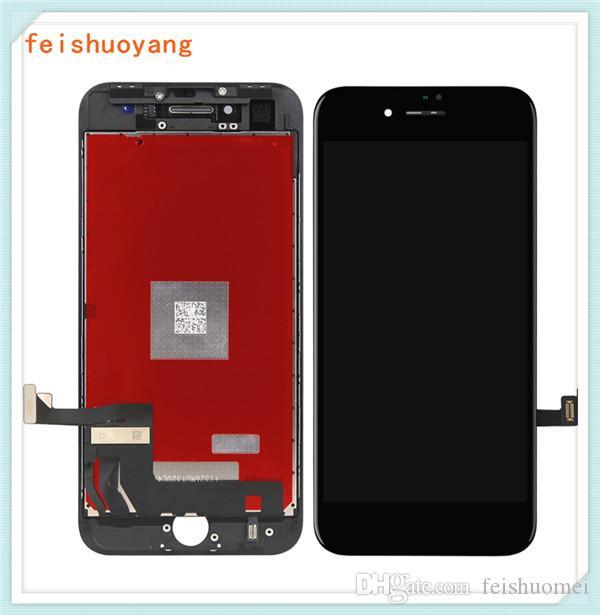 للحصول على 8 شاشات الكريستال السائل لفون 8 زائد شاشات الكريستال السائل TIANMA شاشة LCD تعمل باللمس محول الأرقام شاشة كاملة الشحن DHL مجانا
