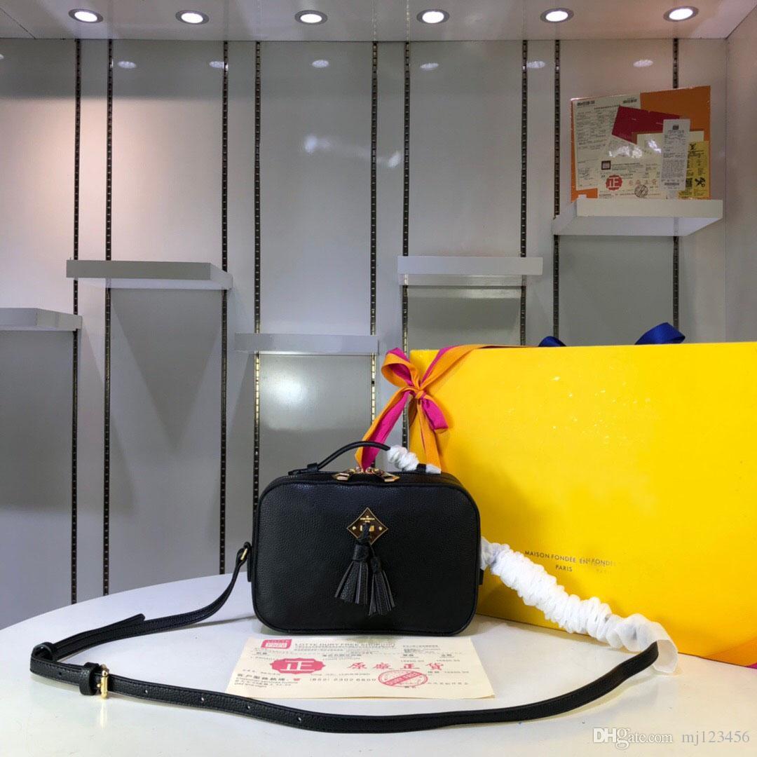 الأصلية عالية الجودة فاخر مصمم حقائب اليد المحافظ SAINTONGE حقيبة المرأة حمل العلامة التجارية كاميرا حقيبة جلدية حقيقية حقائب الكتف