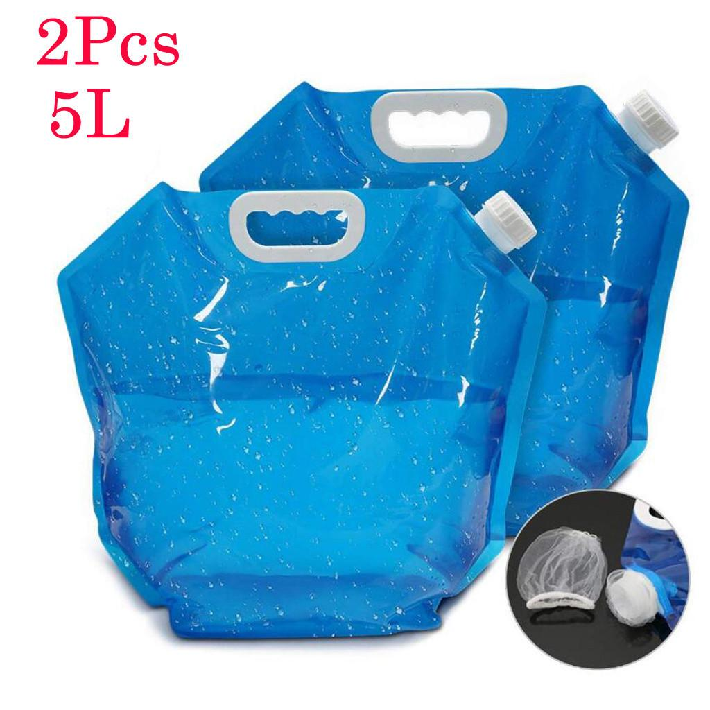 10L//20L Outdoor Foldable Collapsible Drinking Water Container Bag For Picnic