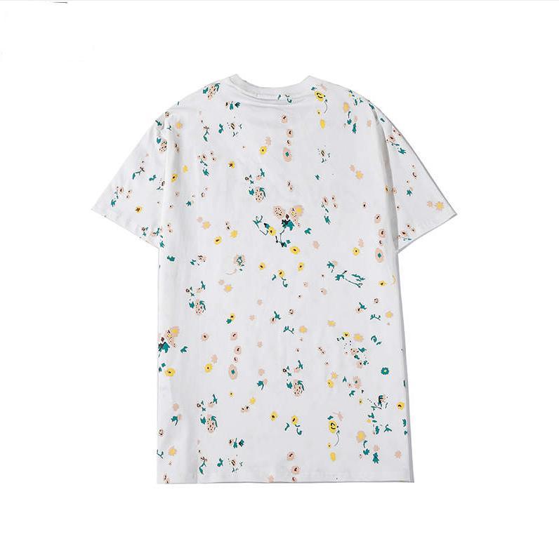 مصمم أزياء تي شيرت للرجال بلايز عالية الجودة الصيف العلامة التجارية المطبوعة قميص وصل عارضة رجالي جديد ترف الأعلى تيز M-2XL Hot1