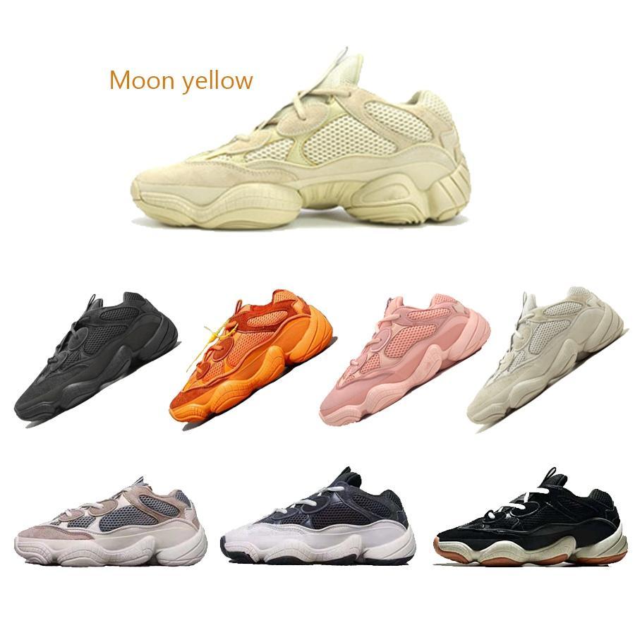 2019 sıcak moda marka erkek kadın tasarımcı erkekler homuss chaussures kanye west 500 3 M ay sarı platformu Dalga Koşucu shoes1564571586278