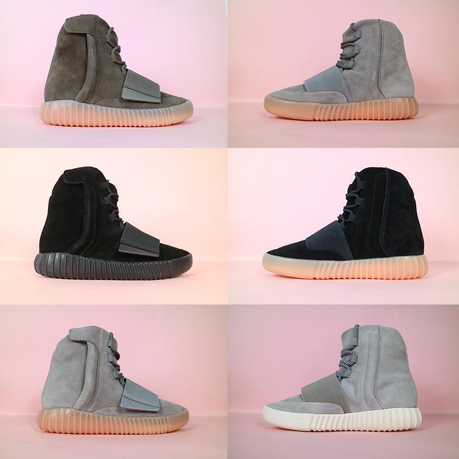 2019 mulheres novas dos homens 750 Blackout Ar Livre sapatilha, com desconto Hot Selling 750 calçados, skate sapatos, Sneakeheads sapatos sapatos altos # 05b6b8 #