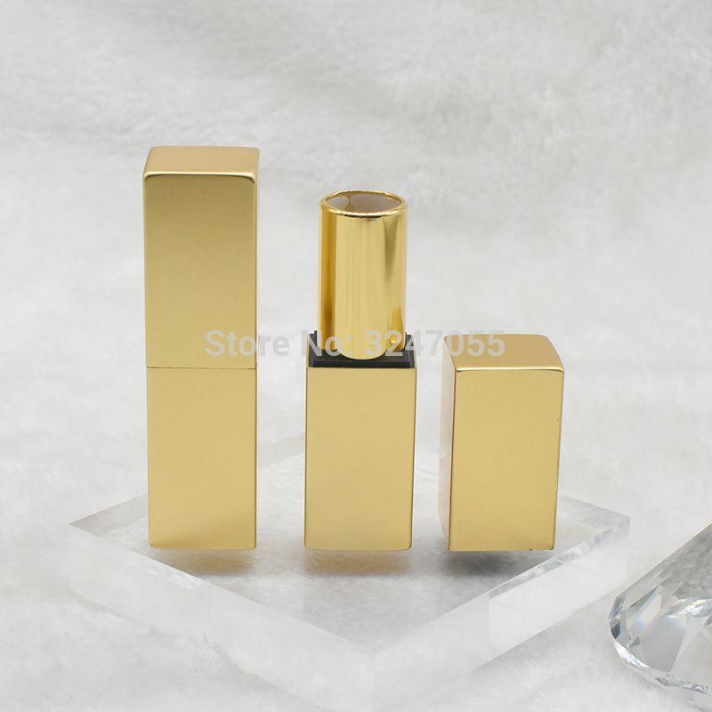 30pcs 12.1mm Oro vacío embalaje cosmético labial, DIY High Class Plaza del lápiz labial del tubo, Profesional Bálsamo labial Botella Embalaje