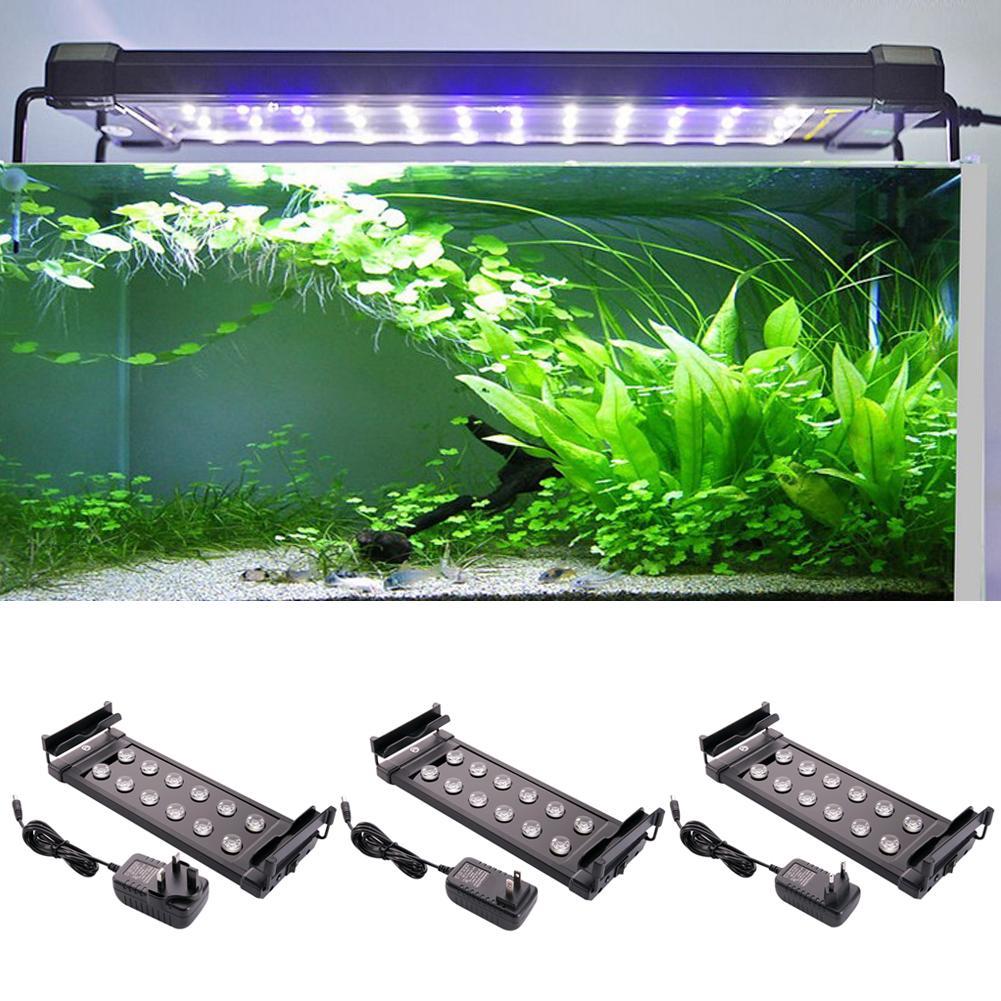2021 Aquarium Fish Tank Light 10w Led Lamp Light Led Lighting For Aquarium Aquatic Aquario Eu Us Uk Plug From Starch 22 07 Dhgate Com