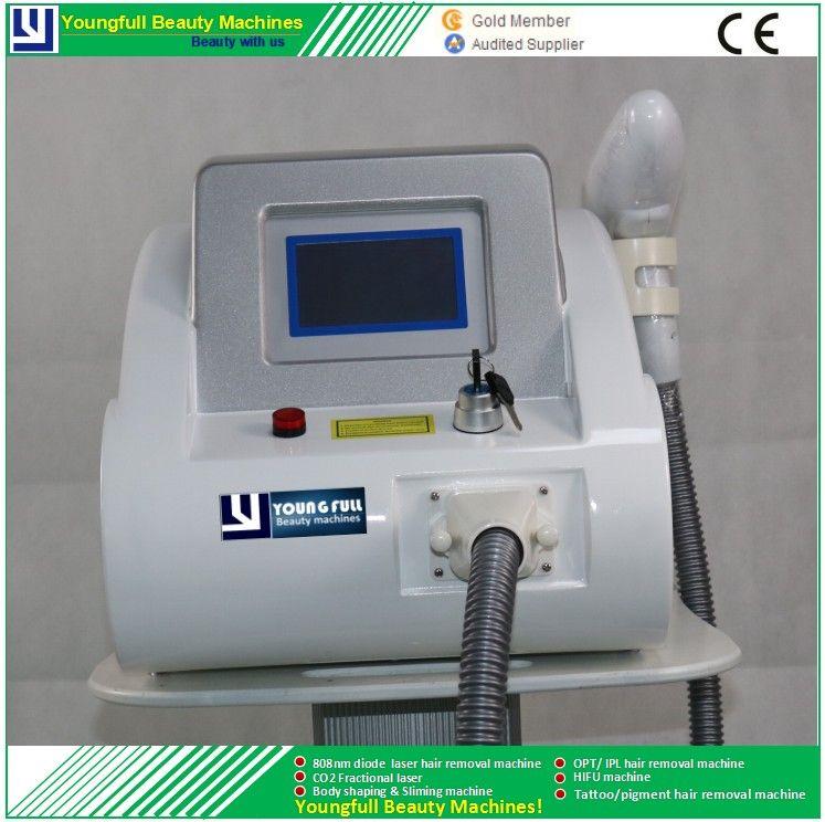آلة إزالة الوشم Nd.yag ليزر أصباغ عالية الطاقة طول موجة متعددة مصنع صيني بيع مباشرة وافق CE