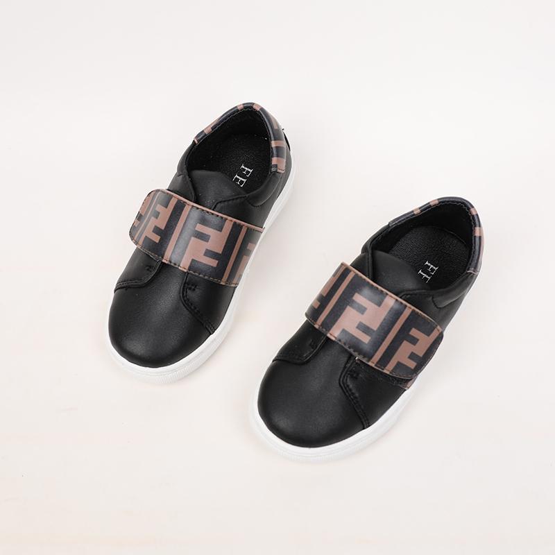 Çocuk Unisex Nefis Küçük Beyaz Moda Sonbahar Yeni Desen Kore Sürümü Kız Günlük Ayakkabılar 030911