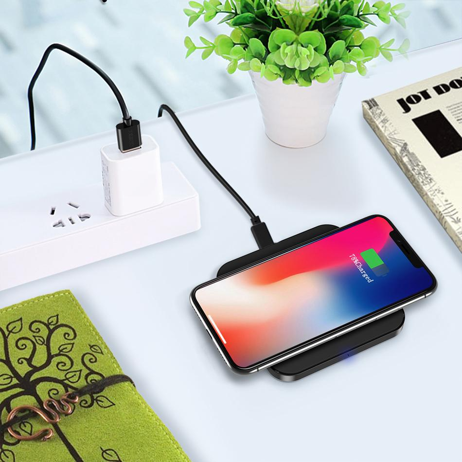 Wireless Charger For Xiaomi Redmi 5A 4 4A 4x 5A Note 3 4 4X Pro Chargers Cases Charging Pad With QI Receiver Phone Accessory