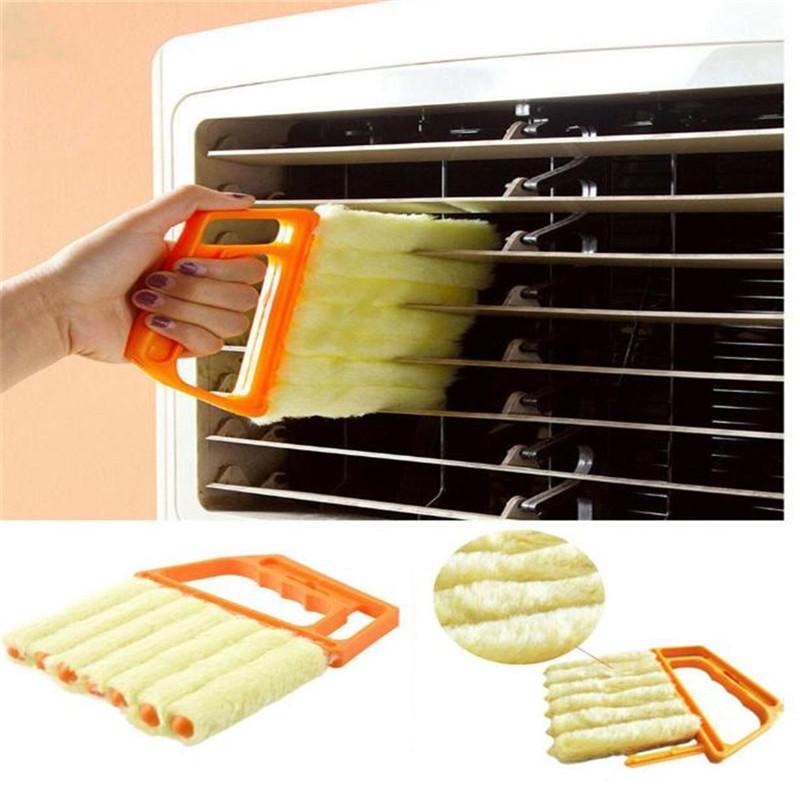 Blind Reiniger Nützliche Mikrofaser Fensterreinigungsbürste Klimaanlage Duster Mini Shutter Reiniger Waschbar Reinigungstuch Pinsel DA207