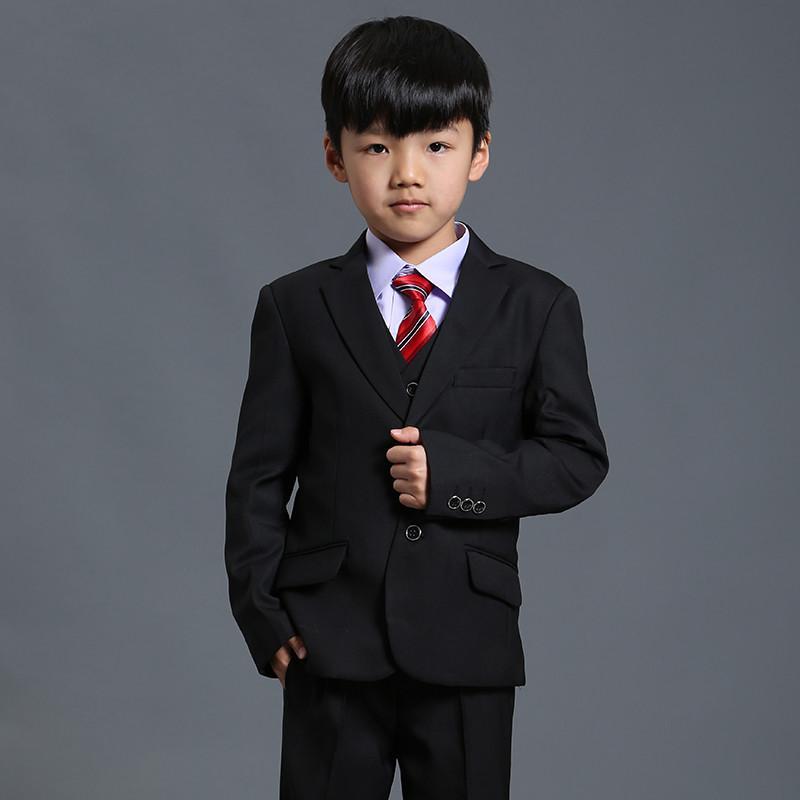 Terno Nimble Preto para menino meninos sólidos Suits para casamentos Meninos Blazer Costume Enfant Garcon Mariage Jogging Garcon Blazer