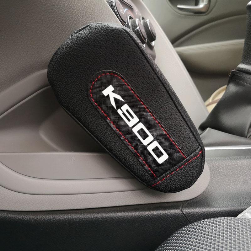 Кожаный наколенник поручень коврик интерьер автомобиля аксессуары для Kia K900